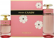 Image of Prada Candy Florale Gift Set 80ml EDT + 30ml EDT