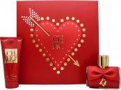 Image of Carolina Herrera CH Privée Gift Set 80ml EDP + 100ml Exfoliating Lotion