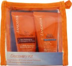Image of Lancaster Discovery Gift Set 50ml Silky Milk Sublime Tan SPF15 + 50ml After Sun Tan Maximizer