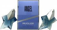 Image of Thierry Mugler Angel Gift Set 2 x 50ml EDP