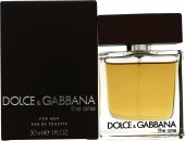 Image of Dolce & Gabbana The One For Men Eau De Toilette 30ml