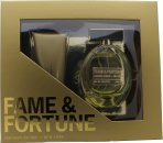 Fame & Fortune Fame & Fortune for Women Gift Set 100ml EDT  100ml Body Lotion