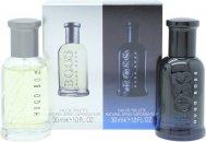 Hugo Boss Gift Set 30ml EDT Bottled  30ml EDT Bottled Night