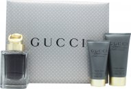Gucci Made to Measure Gift Set 50ml EDT  50ml Aftershave Balm  50ml Shower Gel