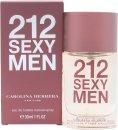 Image of Carolina Herrera 212 Sexy Men Eau De Toilette 30ml Spray