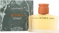 Laura Biagiotti Roma Uomo Eau de Toilette 75ml Spray