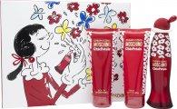 Moschino Cheap & Chic Chic Petals Gift Set 50ml EDT  100ml Body Lotion  100ml Shower Gel