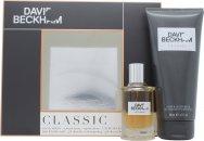 David Beckham Classic Gift Set 40ml EDT Spray  200ml Hair & Body Wash