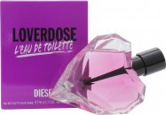 Diesel Loverdose LEau de Toilette Eau de Toilette 50ml Spray