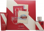 Carolina Herrera CH Men Sport Gift Set 50ml EDT  100ml Aftershave Balm