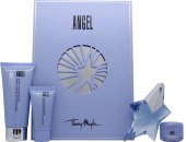Thierry Mugler Angel Gift Set 25ml EDP  30ml Body Lotion  30ml Shower Gel
