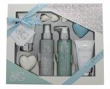 Style & Grace Puro Pure Bliss Bath & Body Gift Set 120ml Body Wash  100ml Body Lotion  120ml Body Mist  50g Soap  100ml Body Scrub  3x5g Pearls