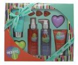 Style & Grace Bubble Boutique Bath & Body Blockbuster Gift Set 120ml Body Wash  100ml Body Lotion  120ml Body Mist  45g  100ml Body Scrub  3 x 5g Pearls