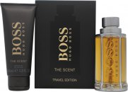 Hugo Boss Boss The Scent Gift Set 100ml EDT Spray  100ml Shower Gel