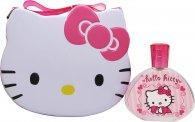 Hello Kitty Gift Set 100ml EDT  Metal Lunch Box