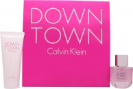 Calvin Klein Downtown Gift Set 50ml EDP  100ml Shower Gel