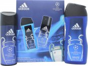 Adidas Uefa Champions League Edition Gift Set 150ml Body Spray  250ml Shower Gel