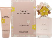 Marc Jacobs Daisy Eau So Fresh Gift Set 125ml EDT  75ml Body Lotion