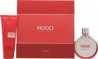 Hugo Boss Hugo Gift Set 50ml EDP  100ml Body Lotion