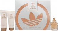 Adidas Born Original for Her Gift Set 50ml EDP  75ml Body Lotion  75ml Shower Gel