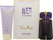 Thierry Mugler Alien Gift Set 60ml Refillable EDP Spray  100ml Body Lotion