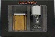 Azzaro Pour Homme Gift Set 50ml EDT  75ml Deodorant Stick