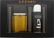 Azzaro Pour Homme Gift Set 100ml EDT  150ml Deodorant Spray