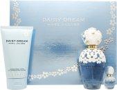 Marc Jacobs Daisy Dream Gift Set 100ml EDT  150ml Body Lotion  4ml EDT