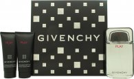 Givenchy Play Gift Set 100ml EDT  75ml Aftershave  75ml Shower Gel