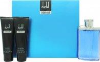 Dunhill Desire Blue Gift Set 100ml EDT  90ml Shower Gel  90ml Aftershave Balm