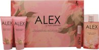 Alex Gerrard Alex Gift Set 100ml EDT  20ml EDT  100ml Body Lotion  100ml Shower Gel