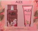 Alex Gerrard Alex Gift Set 100ml EDT  100ml Body Lotion