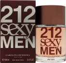 Image of Carolina Herrera 212 Sexy Men Aftershave 100ml Splash